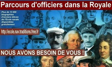 Visueel van project Parcours d'officiers dans la Royale