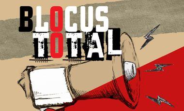 Project visual BLOCUS TOTAL : roman dystopique de révolte lycéenne inspiré par la lutte contre le CPE