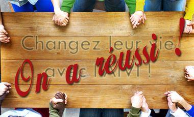 Visuel du projet Changez leur vie !