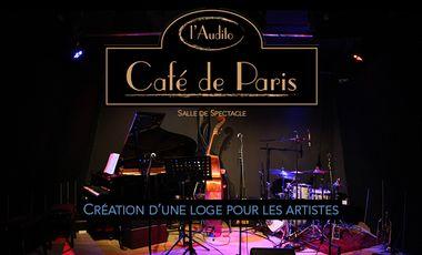 Visueel van project Une loge pour les artistes du Café de Paris - l'Audito