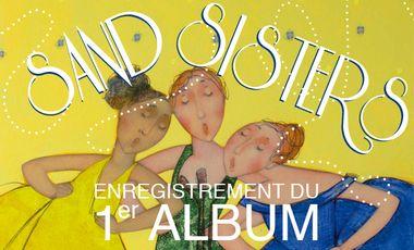 Visueel van project Sand Sisters premier album
