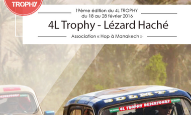 Visueel van project 4L Trophy - Lezard Haché