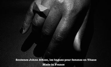 Project visual Johnn & Rose,  concepteurs de bagues en titane Made in France