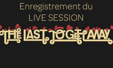 Visueel van project The last to get away - Live session.