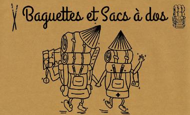 Visuel du projet Baguettes et sacs à dos