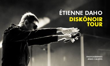 Visuel du projet Etienne Daho . Diskönoir Tour