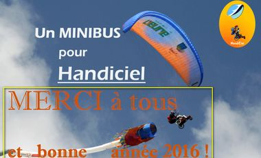Visuel du projet Minibus accessible Handiciel parapente