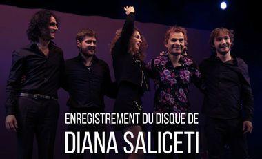 Visueel van project Enregistrement du disque de DIANA SALICETI