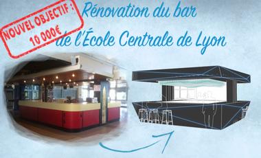 Project visual Rénovation du Bar de l'Ecole Centrale de Lyon