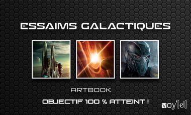 Visueel van project Essaims galactiques