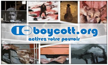Visuel du projet i-boycott.org