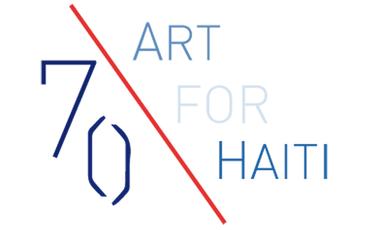 Visueel van project 70 ART FOR HAÏTI