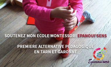 Visueel van project Ecole Montessori Epanoui'sens