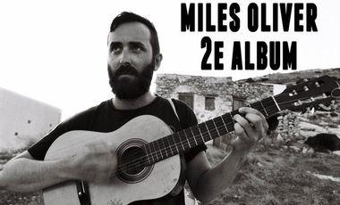 "Visueel van project Miles Oliver - production du 2e album ""I Miss Boredom"""