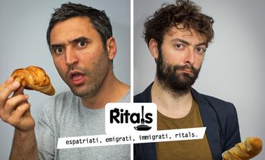 Visueel van project Ritals, la web serie transalpina