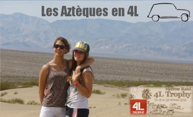 Project visual Les Aztèques en 4L