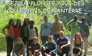 Visuel du projet Séjour plongée pour des collégiens de Nanterre