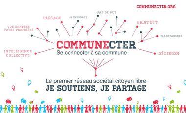 Project visual Communecter - Se connecter à sa commune