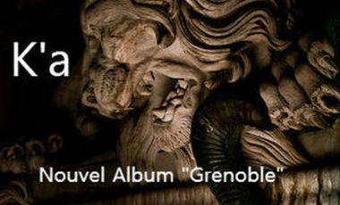 """Visuel du projet Un nouvel ALBUM """"Grenoble"""""""