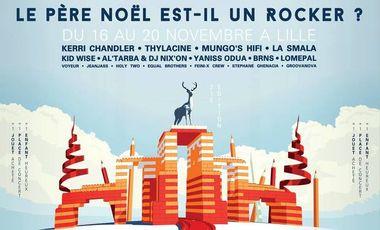 """Visuel du projet """"Le Père-Noël est-il un Rocker ?"""" - 21ème édition"""