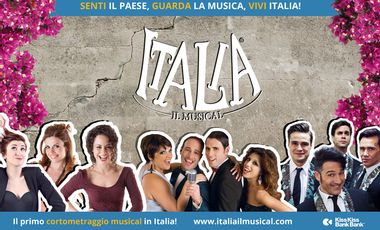 Visuel du projet ITALIA - Il musical (Cortometraggio)