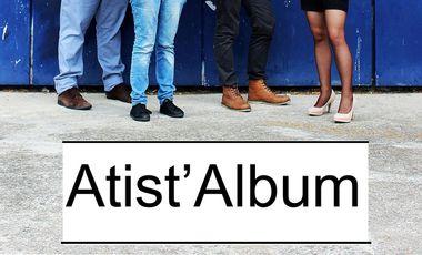 Visueel van project Atist'Album !