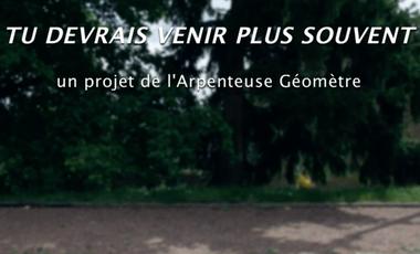 Project visual TU DEVRAIS VENIR PLUS SOUVENT