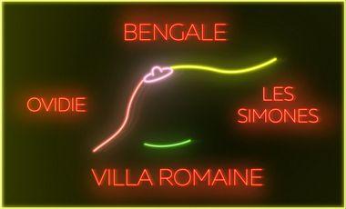 """Project visual Bengale / Les Simones / Ovidie - """"Villa Romaine"""" (Clip officiel)"""