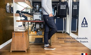 Project visual Dao Jeans Selvedge Créés à Nancy Fabriqués en France