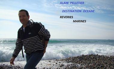 Visueel van project Alain Pelletier 1er album destination océane