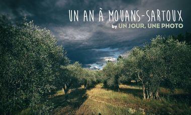 """Visueel van project Un an à Mouans-Sartoux, by """"Un jour, une photo"""" - livre photo"""