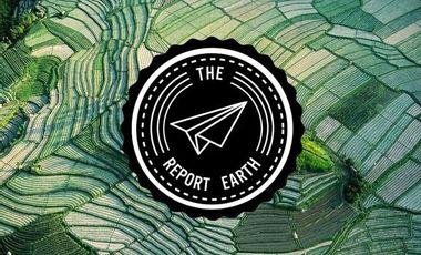 Visueel van project The Report Earth, webzine de voyage