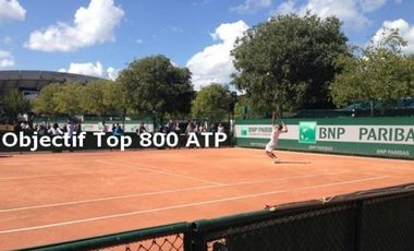 Visueel van project Louis Lechevretel : Objectif Top 800 ATP 2016