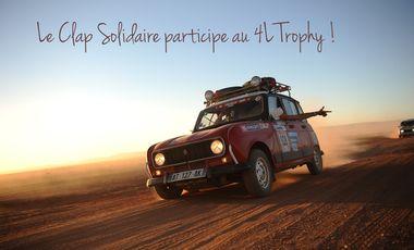 Visueel van project Le Clap Solidaire participe au 4L Trophy !