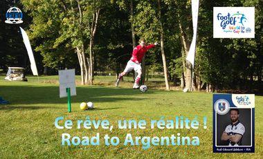Visueel van project Footgolf : Coupe du monde 2016 (Argentine) et Saison 2016