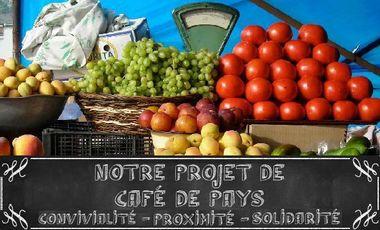 Visuel du projet CONVIVIALITE, PROXIMITE, SOLIDARITE,NOTRE NOUVELLE VIE DANS UN CAFE DE PAYS