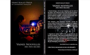 """Project visual """"Vaines nouvelles des pays riches"""", d'Hervé Rollet-Preux"""