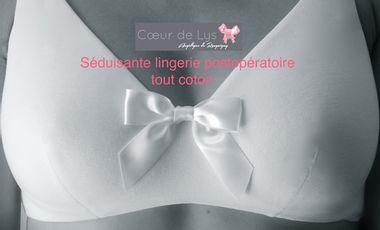Visuel du projet Séduisante lingerie post opératoire tout coton