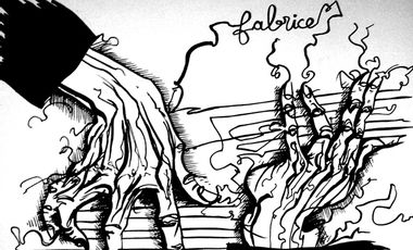 """Visuel du projet Fabrice Dang Trio """"Paroles D'anciens"""""""