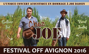"Visueel van project ""Chez Joe"" - Festival Off d'Avignon 2016"