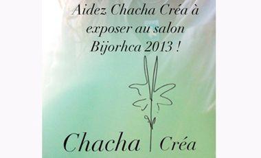 Project visual Aidez Chacha Créa à exposer au salon Bijorhca