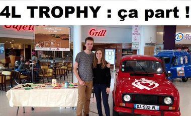 Visueel van project 4L Trophy : ça part !