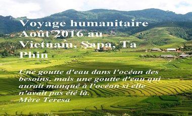 Visueel van project Mission humanitaire Ta Phin (Vietnam) Août 2016