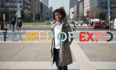 Visueel van project People of Expo