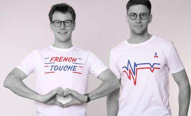 Visuel du projet French Touche: Tee-shirts fabriqués en France