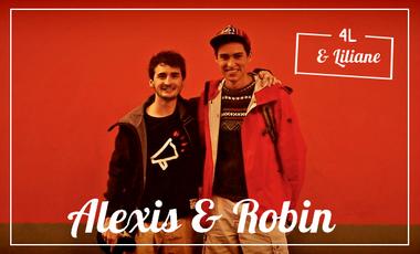 """Visueel van project """"4L et Liliane"""", l'équipage d'Alexis & Robin pour le 4L Trophy 2016 !"""
