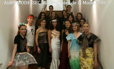Visueel van project MODESSEC aux Trophées de la Mode 2016