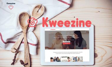 Project visual Kweezine, la nouvelle expérience culinaire