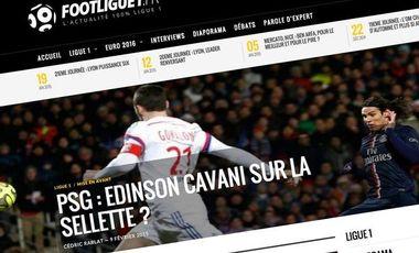Visuel du projet FootLigue1.fr L'expert de la Ligue 1