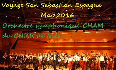 Project visual Voyage en Espagne de l'Orchestre symphonique CHAM du CNRR de Nice